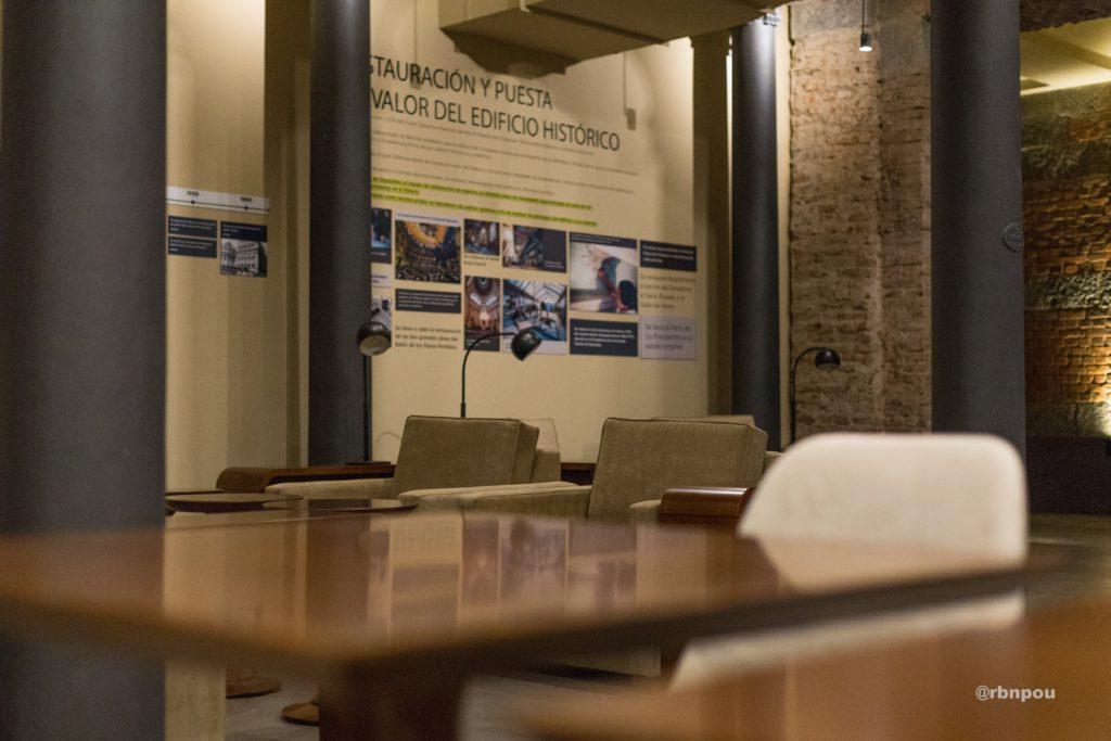 Sala bajo recinto de la HCDN / De depósito a nuevo espacio para los Legisladores